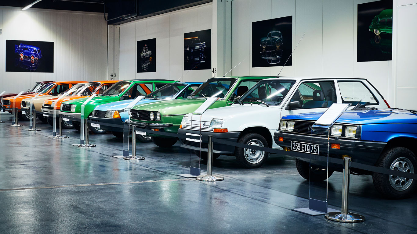 In pictures: inside Renault's incredible classic car collection