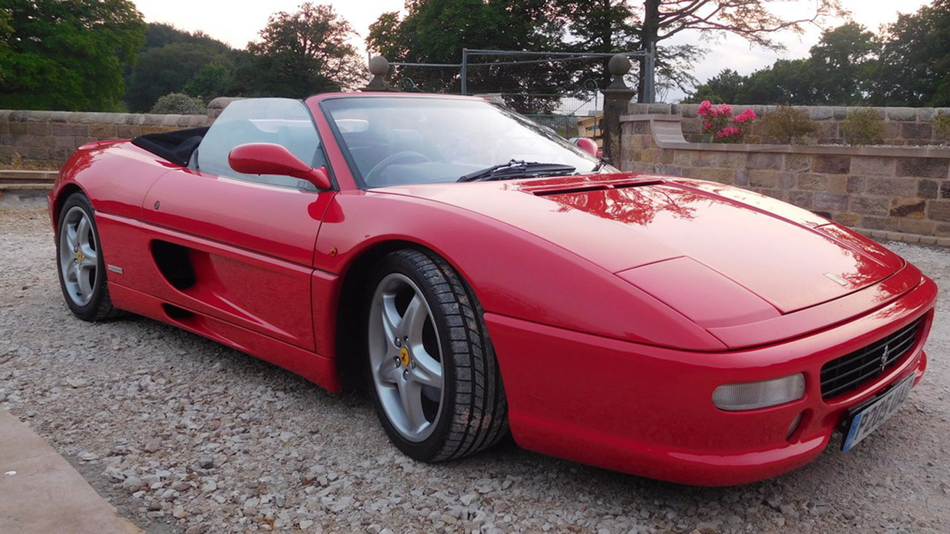 Ferrari F355 Spider: £80,000 - £90,000