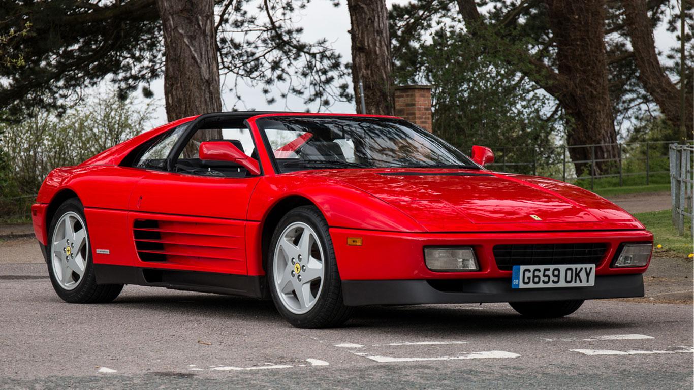 Ferrari 348 TS: £55,000 - £65,000