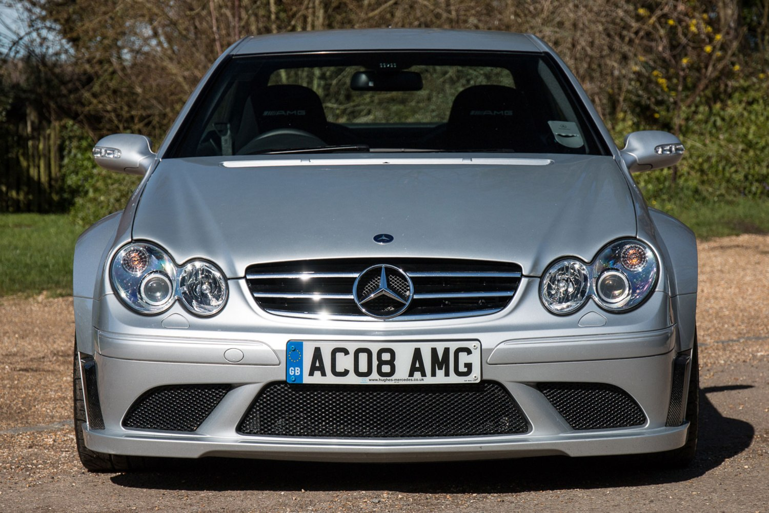 Mercedes CLK63 AMG Black