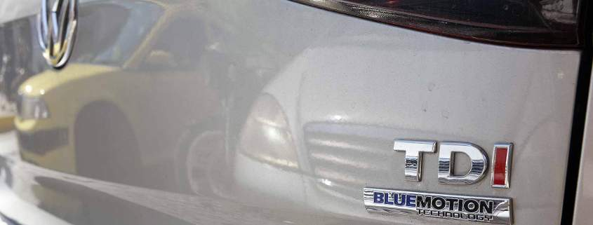 VW TDI badge