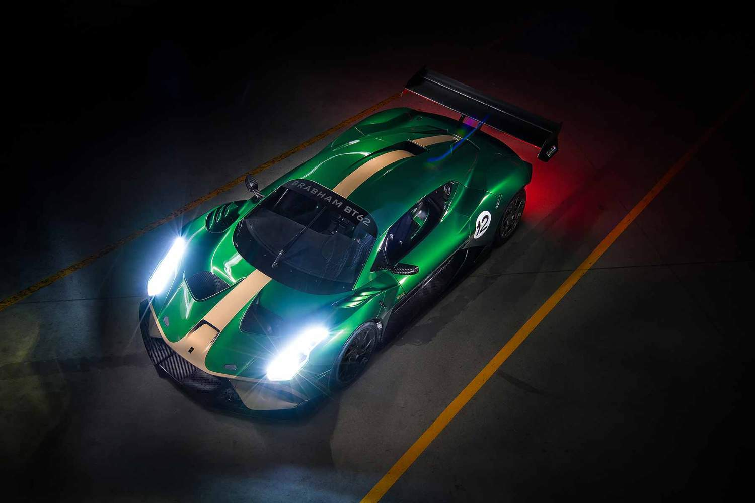New Brabham BT62 supercar