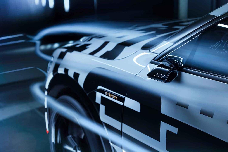 Audi E-tron virtual door mirrors