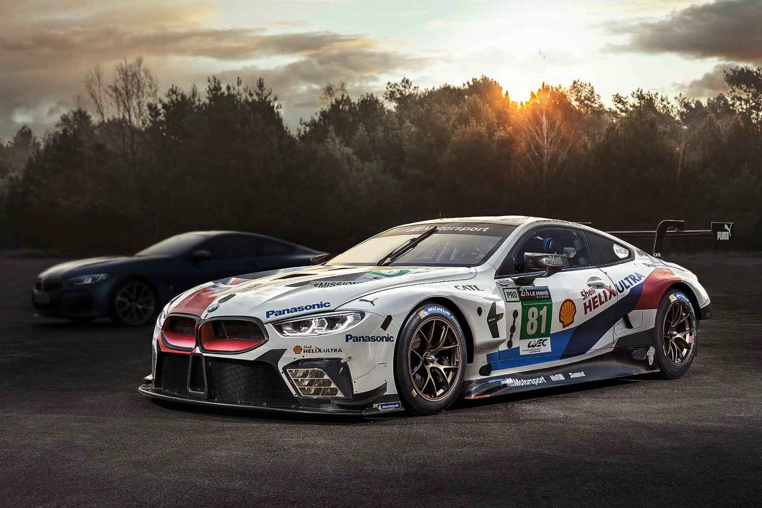BMW 8 Series Coupe Le Mans 2018 reveal