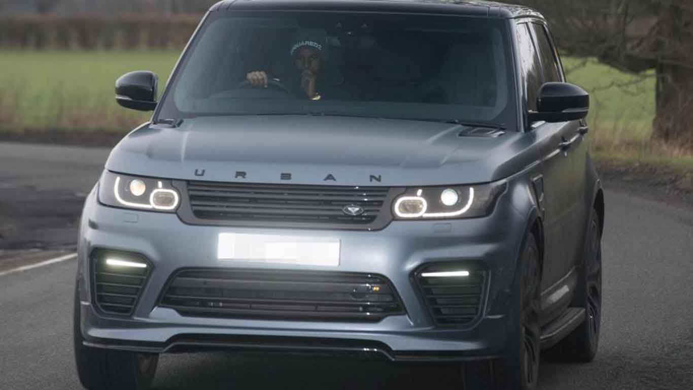 Exotic cars of the England World Cup squad