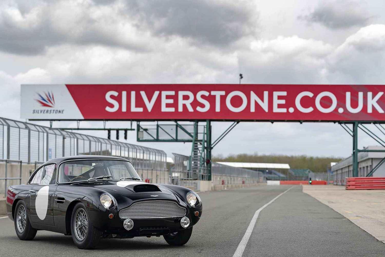 Aston Martin DB4 GT at Silverstone