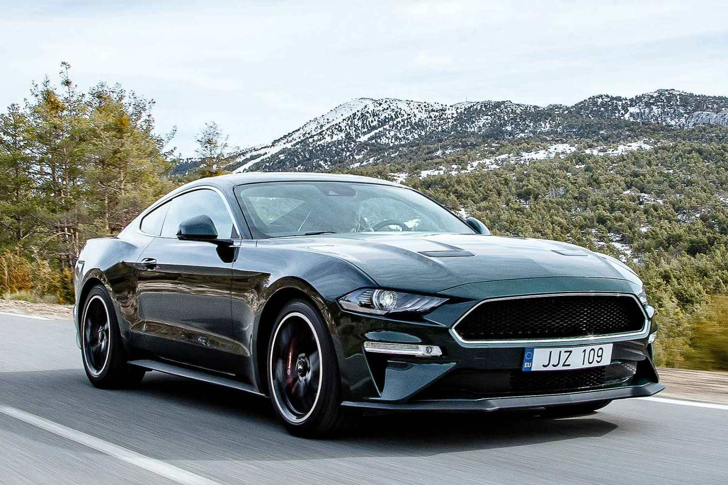 Ford mustang bullitt price from £47145 ordering open now