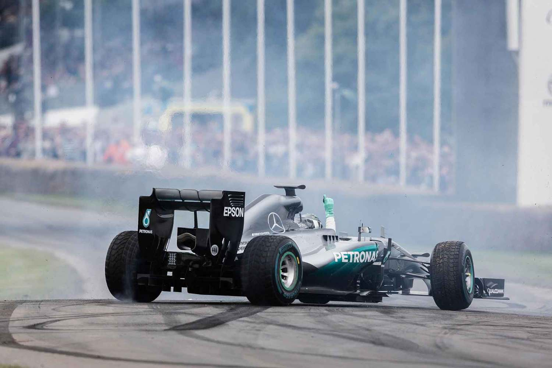 Mercedes-AMG F1 FoS 2016