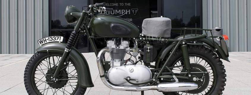 1962 Triumph TR6 Trophy motorcycle