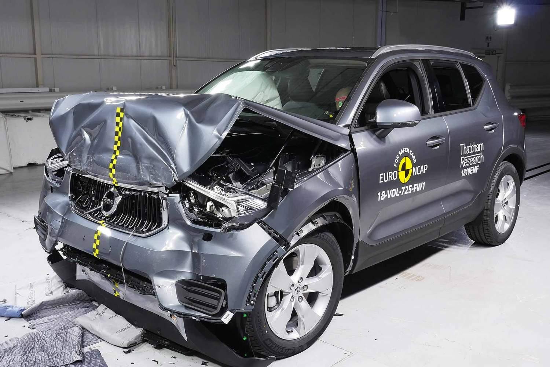 2018 Volvo XC40 Euro NCAP 5 stars