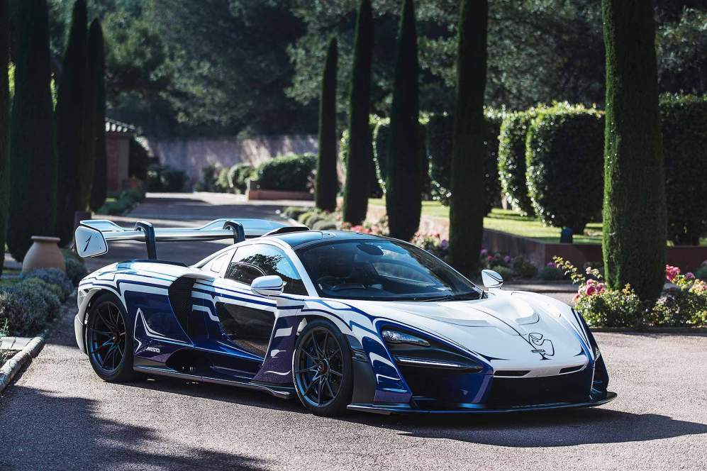 McLaren Senna 001 first drive to France