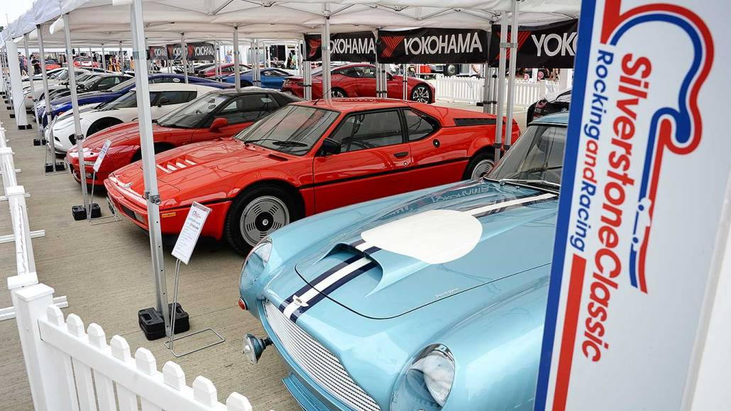 Our car week in review: supercars and auction stars at Silverstone Classic