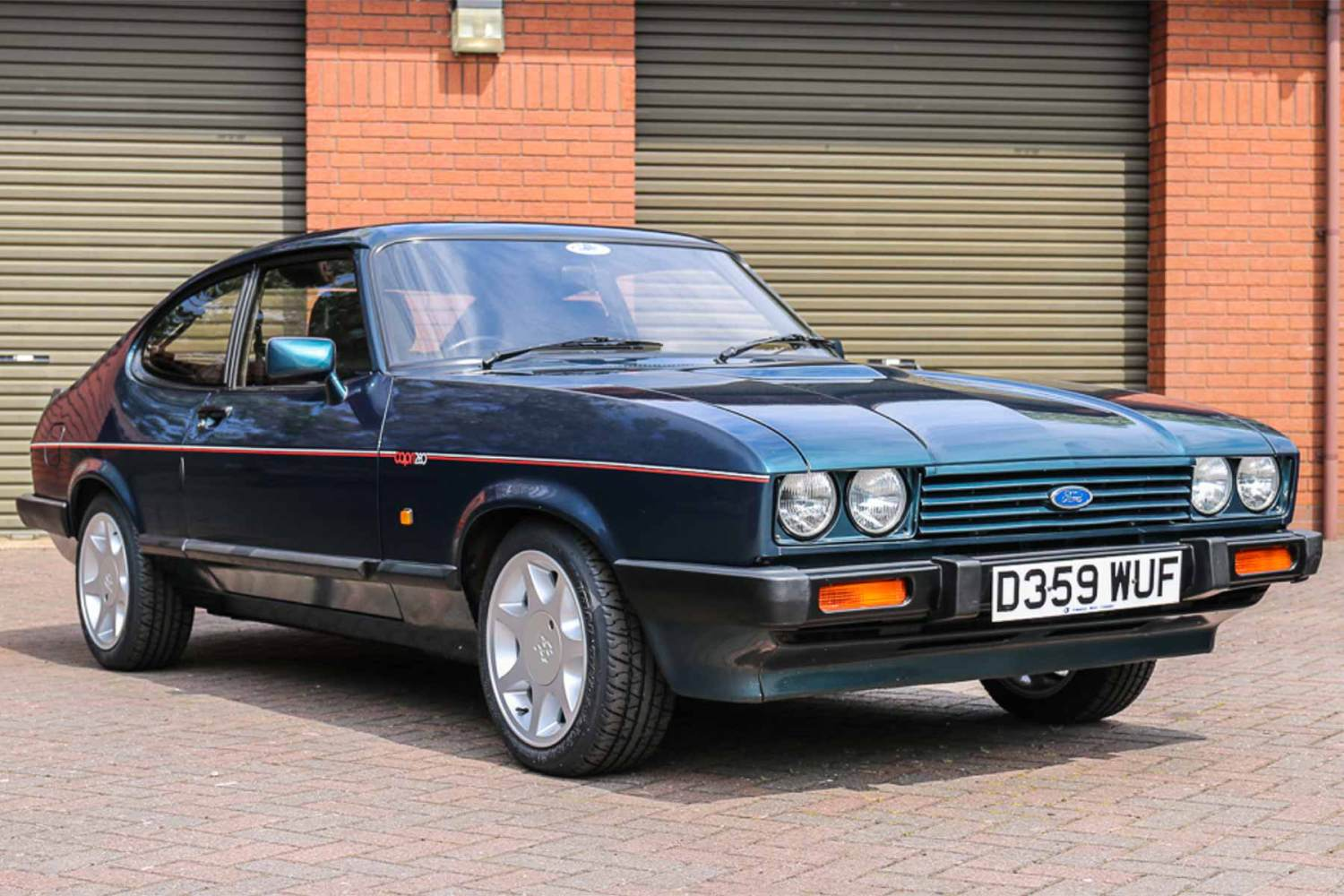 1987 Ford Capri 280 Brooklands