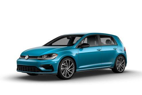 2019 VW Golf R 91 Blue