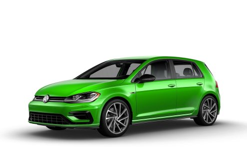 2019 VW Golf R Cliff Green