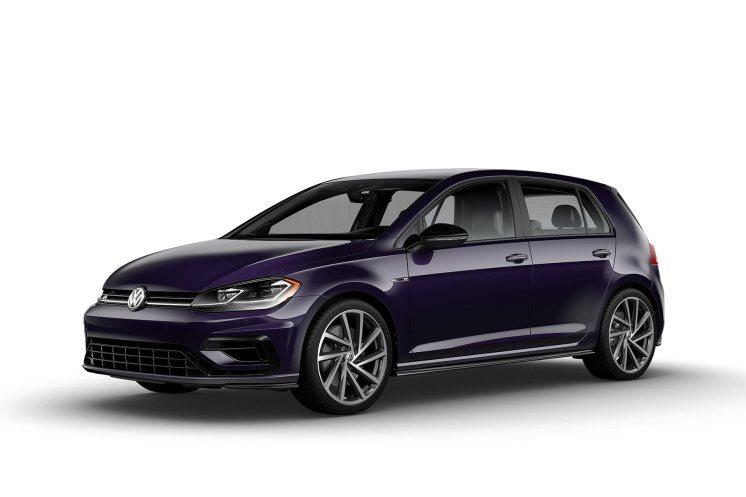 2019 VW Golf R Dark Violet Pearl