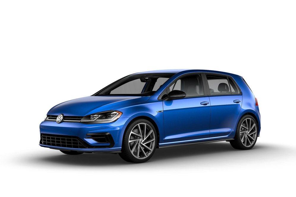2019 VW Golf R Deep Blue Pearl