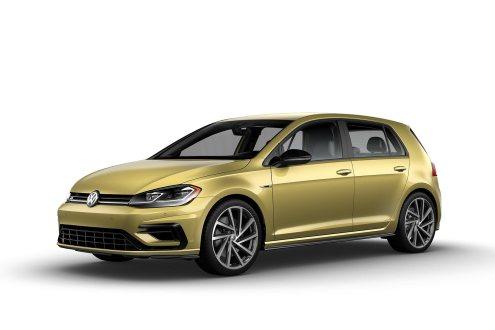 2019 VW Golf R Futura Yellow
