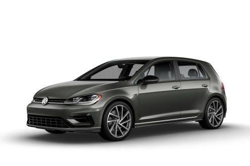 2019 VW Golf R Graphite Metallic