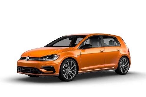 2019 VW Golf R Magma Orange