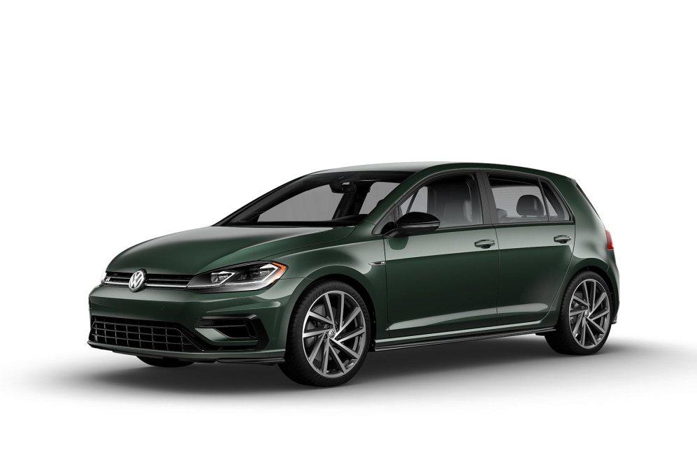 2019 VW Golf R Moss Green
