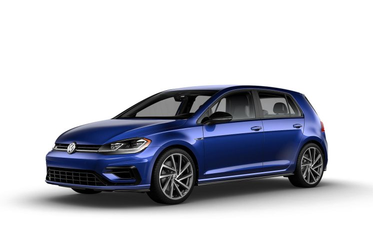 2019 VW Golf R Nogaro Blue
