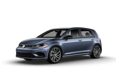 2019 VW Golf R Prussian Blue Metallic