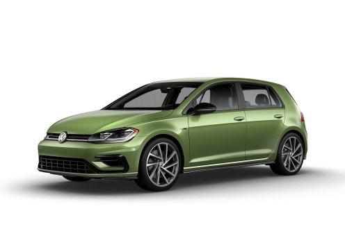 2019 VW Golf R Reseda Green