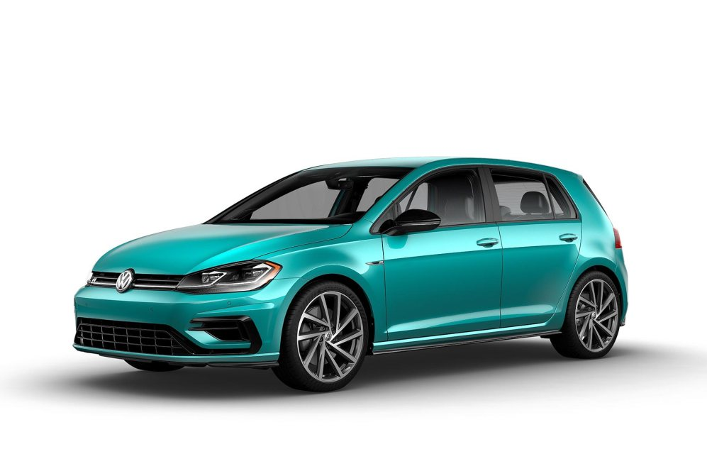 2019 VW Golf R Sarantos Turquoise