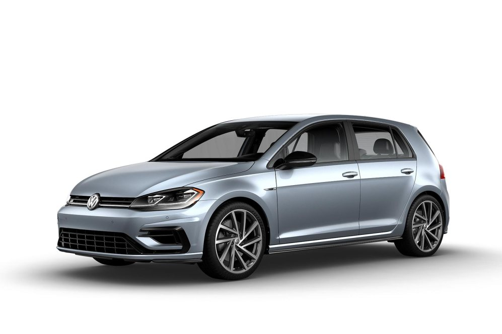 2019 VW Golf R Star Blue