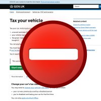 Why you are UNABLE to tax a car this weekend