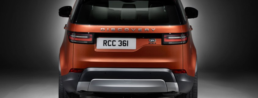 Land Rover Discovery offset plate