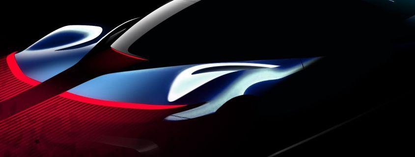 Pininfarina PF0 Concept Sketch