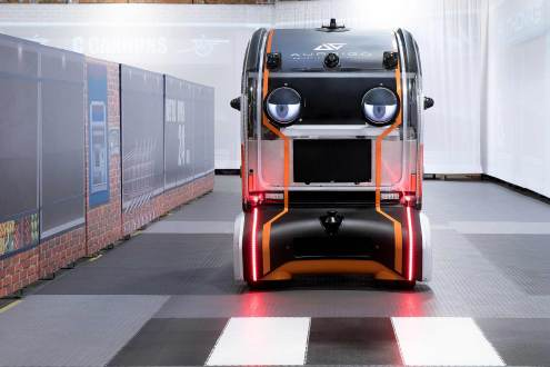 JLR Virtual Eye autonomous test pod