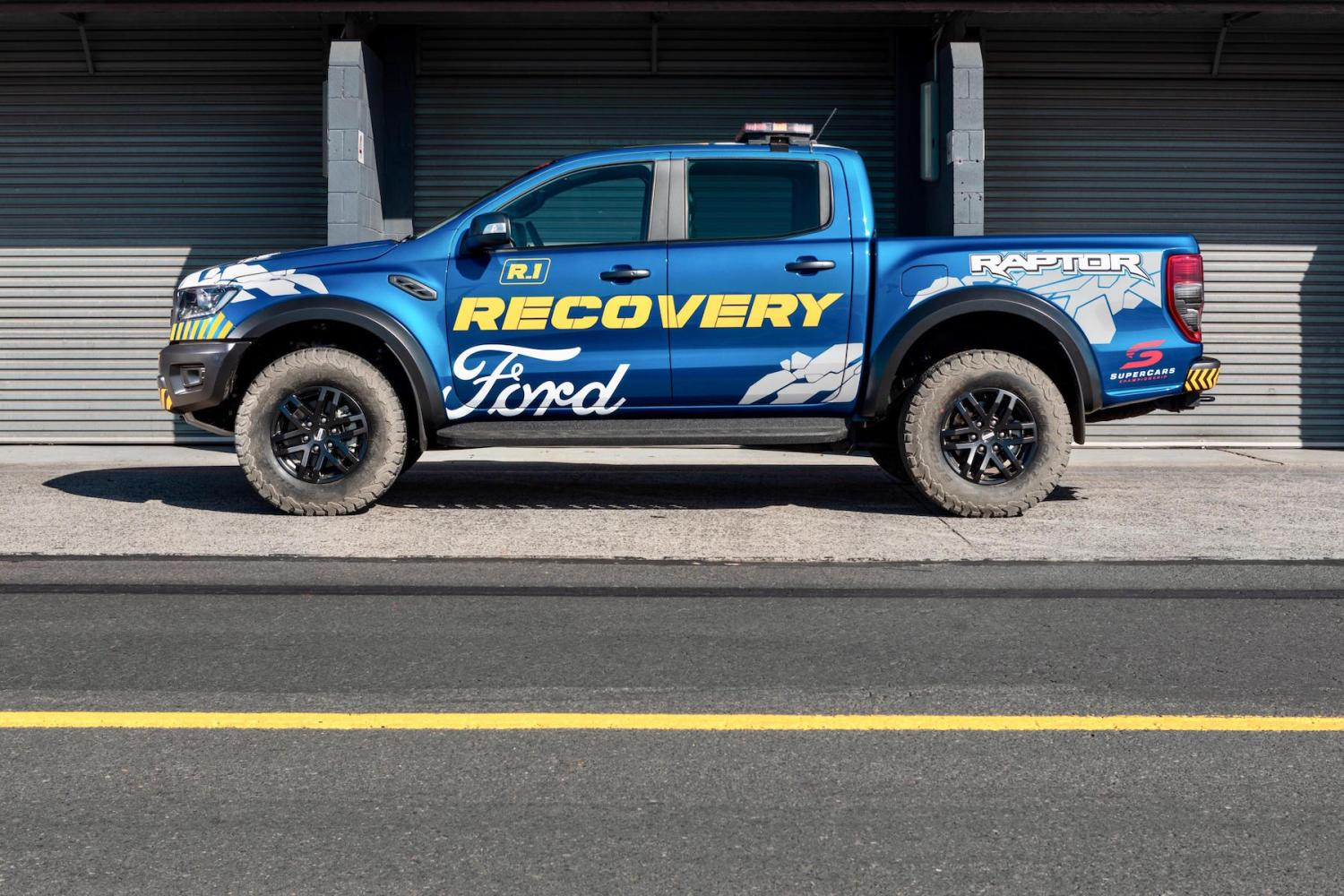 2019 ford performance ranger raptor recovery vehicle