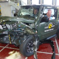 New Suzuki Jimny rapped by Euro NCAP for 'disappointing' 3-star rating