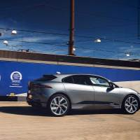 Jaguar I-Pace drives THROUGH the Channel Tunnel in non-stop electric car challenge
