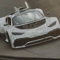 Mercedes-AMG Project One prototype is too noisy to keep secret
