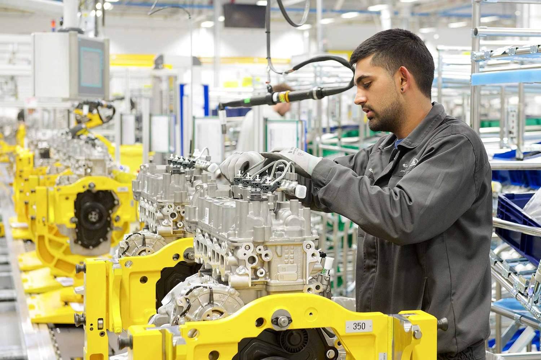 Jaguar Land Rover Ingenium engine plant in Wolverhampton