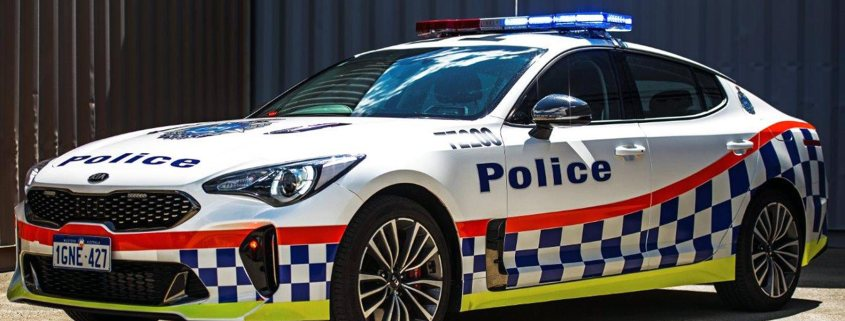 Kia Stinger joins Western Australian police force