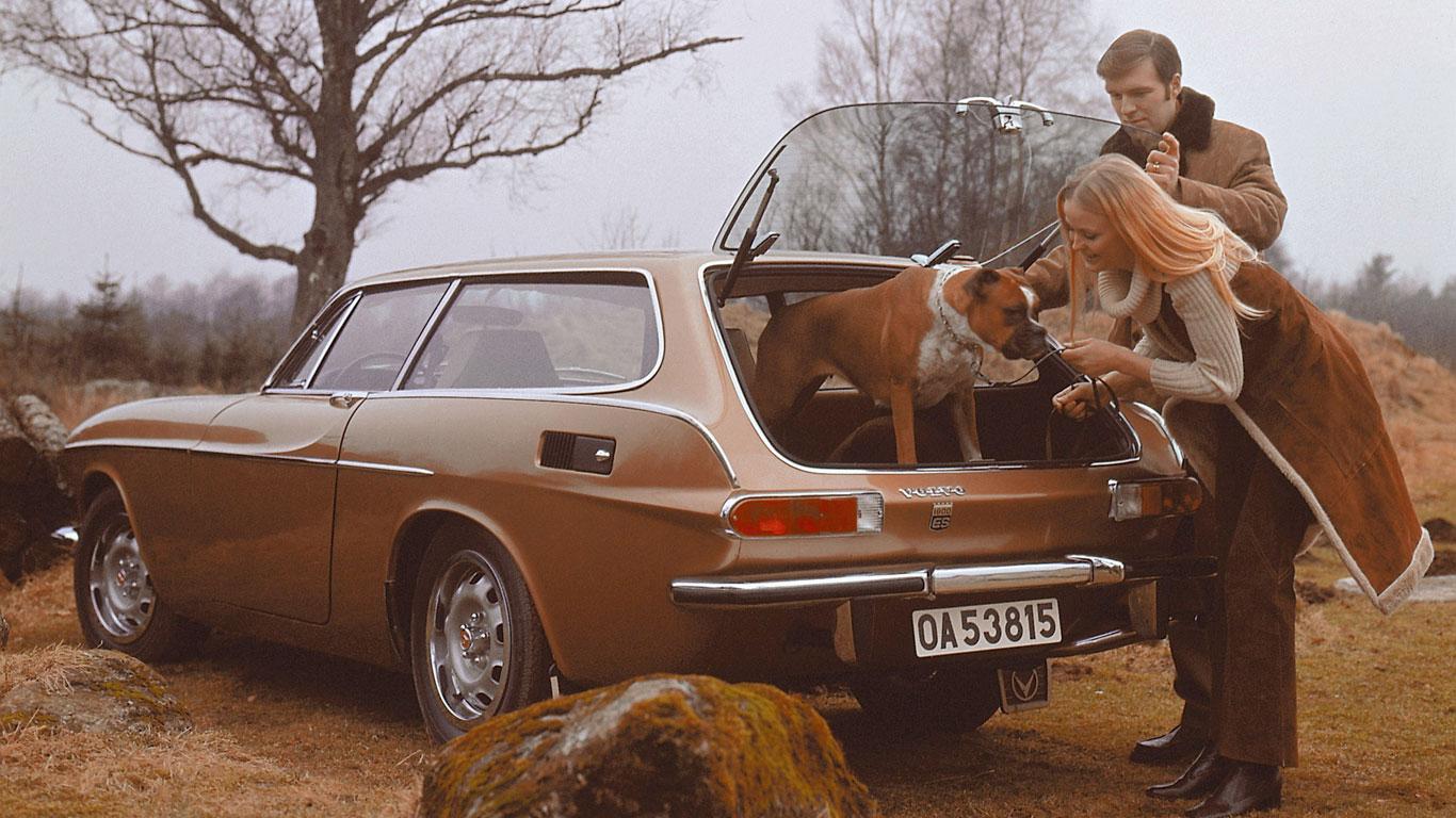 History of Volvo estates