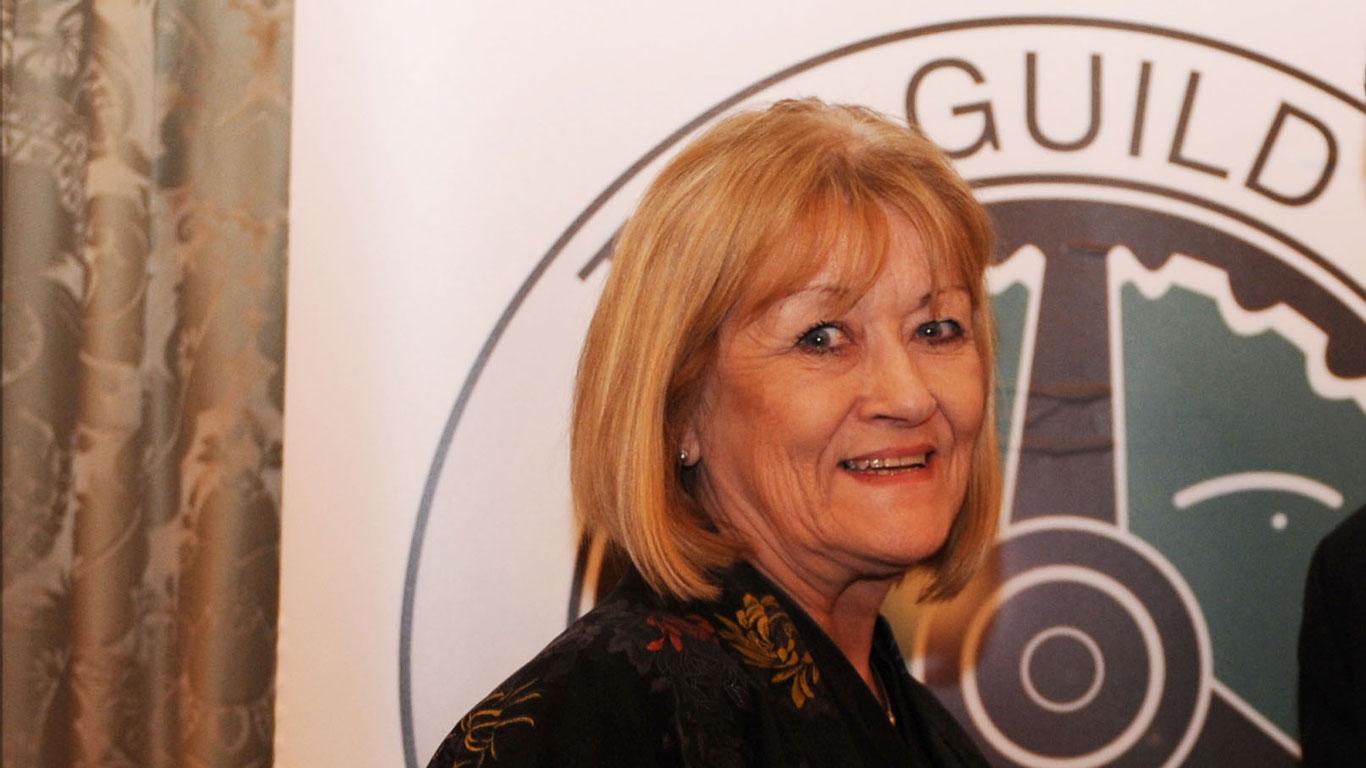 Top Gear presenter Sue Baker