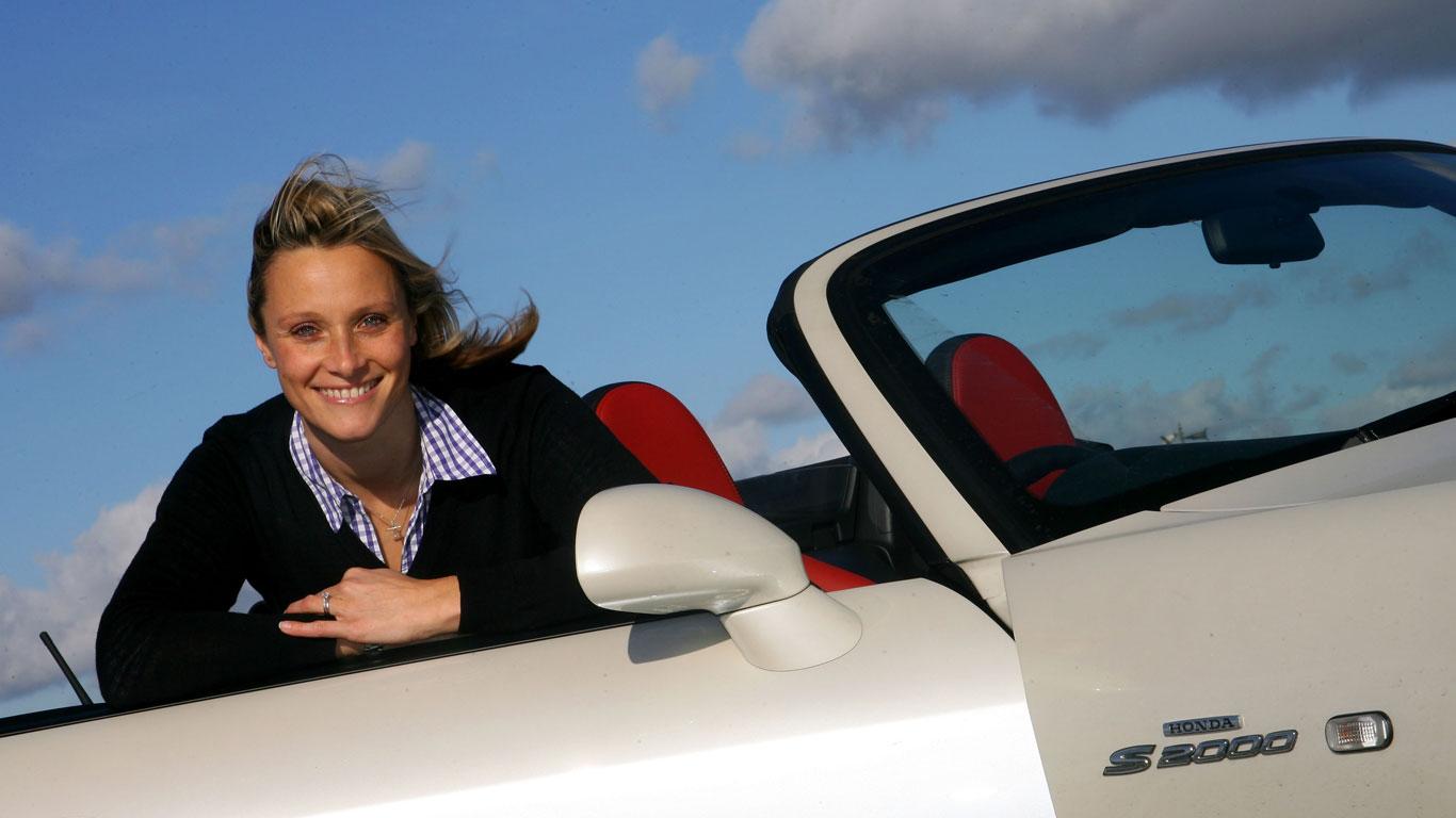 Top Gear presenter Vicki Butler-Henderson