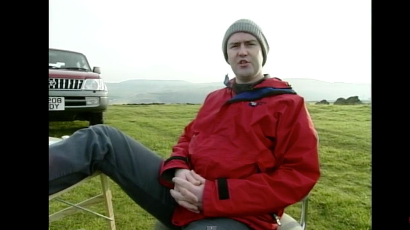 Top Gear presenter Brendan Coogan