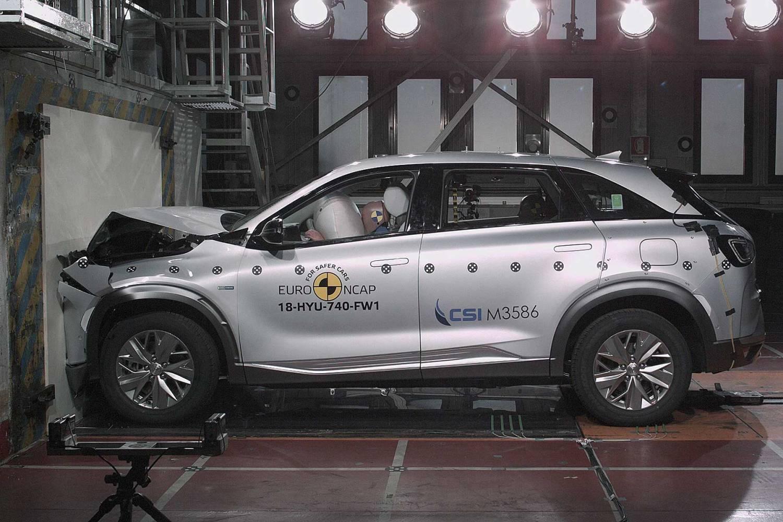 Hyundai Nexo Euro NCAP crash test