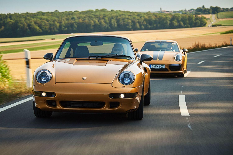 Porsche 'Project Gold' 993 911 sells for £2 4 million