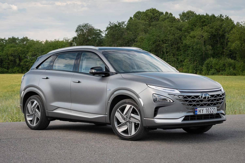 Hyundai Nexo hydrogen fuel cell car