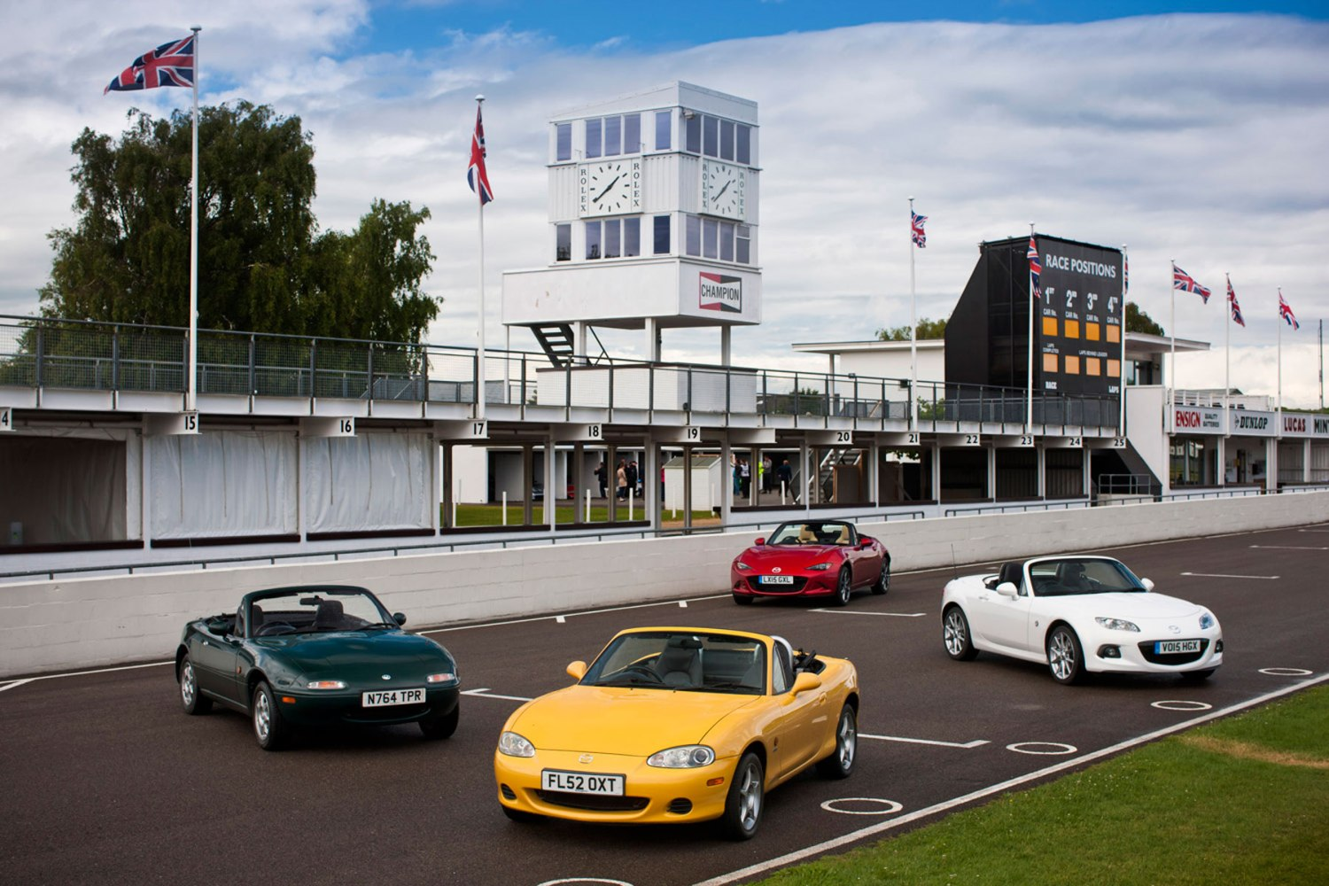 Roadster love: a brief history of the Mazda MX-5   Motoring Research