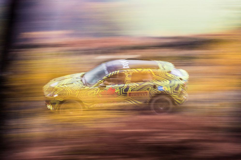 Aston Martin DBX Prototype revealed