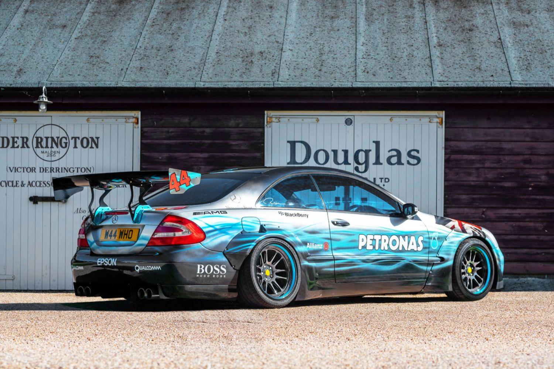 Lewis Hamilton art car tribute for sale